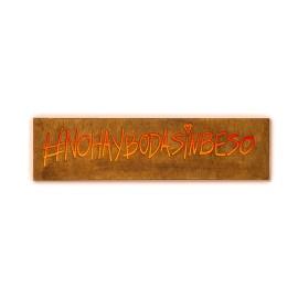 Caja de luz Nohaybodasinbeso